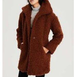American Eagle Oversized Teddy Coat -XS